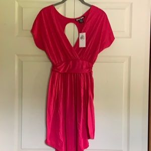 Planet Gold Fuscia dress, new w tags